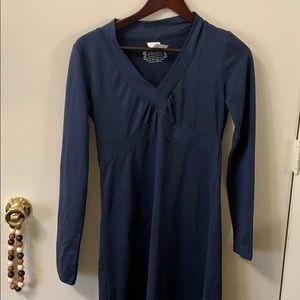 Navy boutique dress